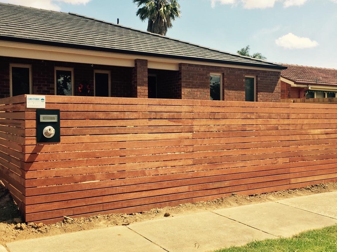 Gallery eastside fencing fencing in melbourne horizontal slat merbau fence workwithnaturefo