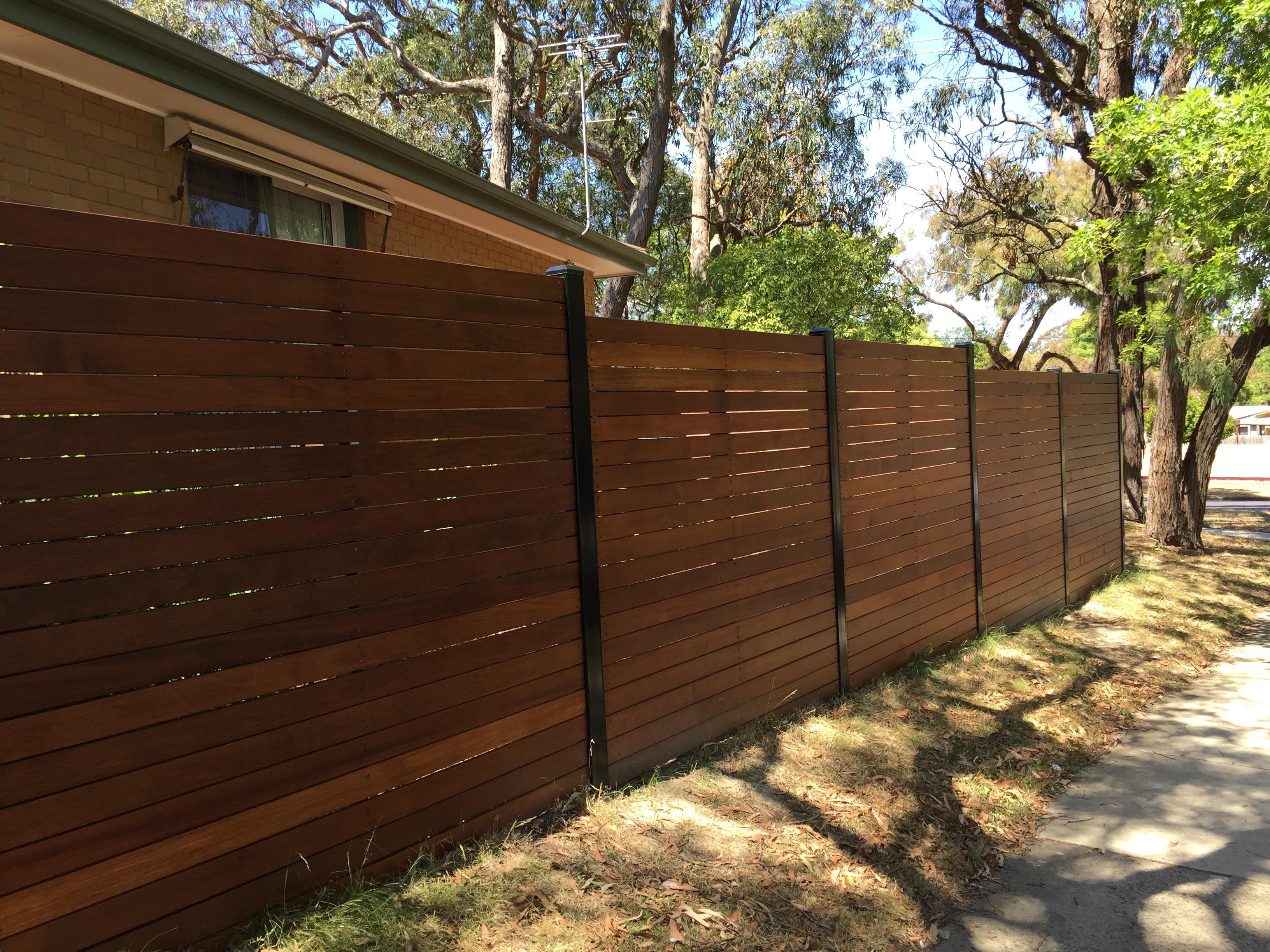 timber fencing merbau eastside fencing